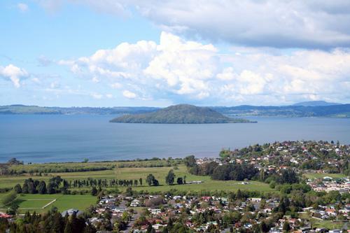 Lake Rotorua view