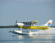 See spectacular Mt Tarawera and Waimangu Valley by seaplane