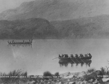 Was the Lake Tarawera Phantom Canoe a supernatural sign?