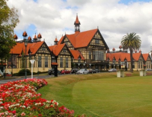 A snapshot of Rotorua's historic heritage buildings
